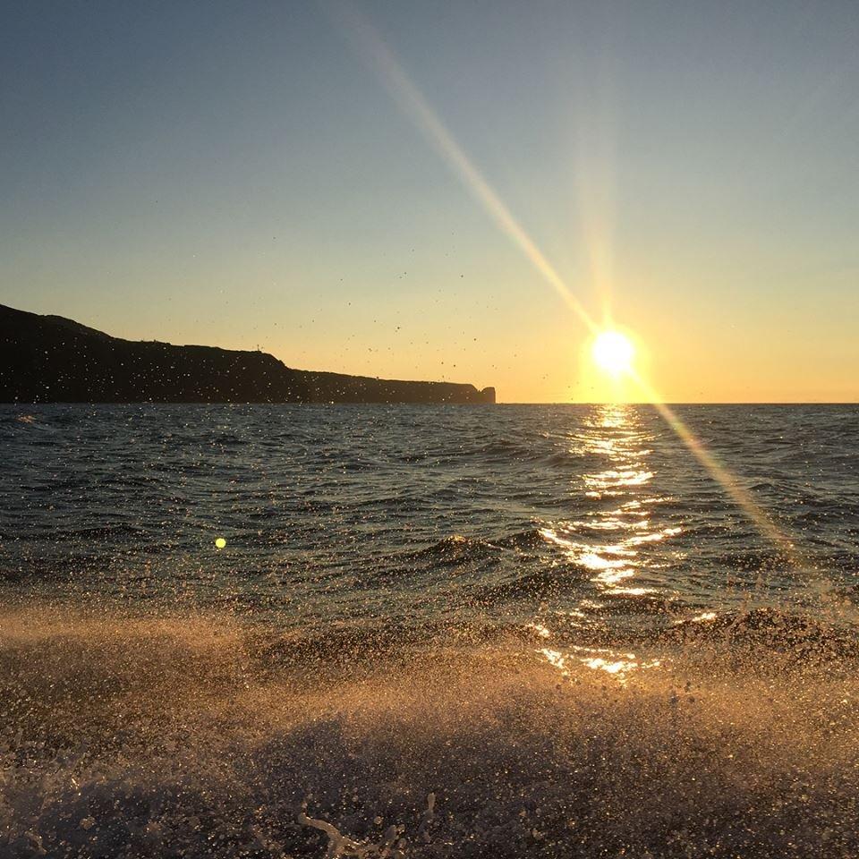 Восход солнца, мыс Маячный
