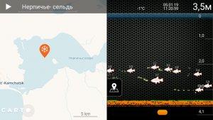 Запись рыбалки и точки