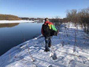 к месту рыбалки
