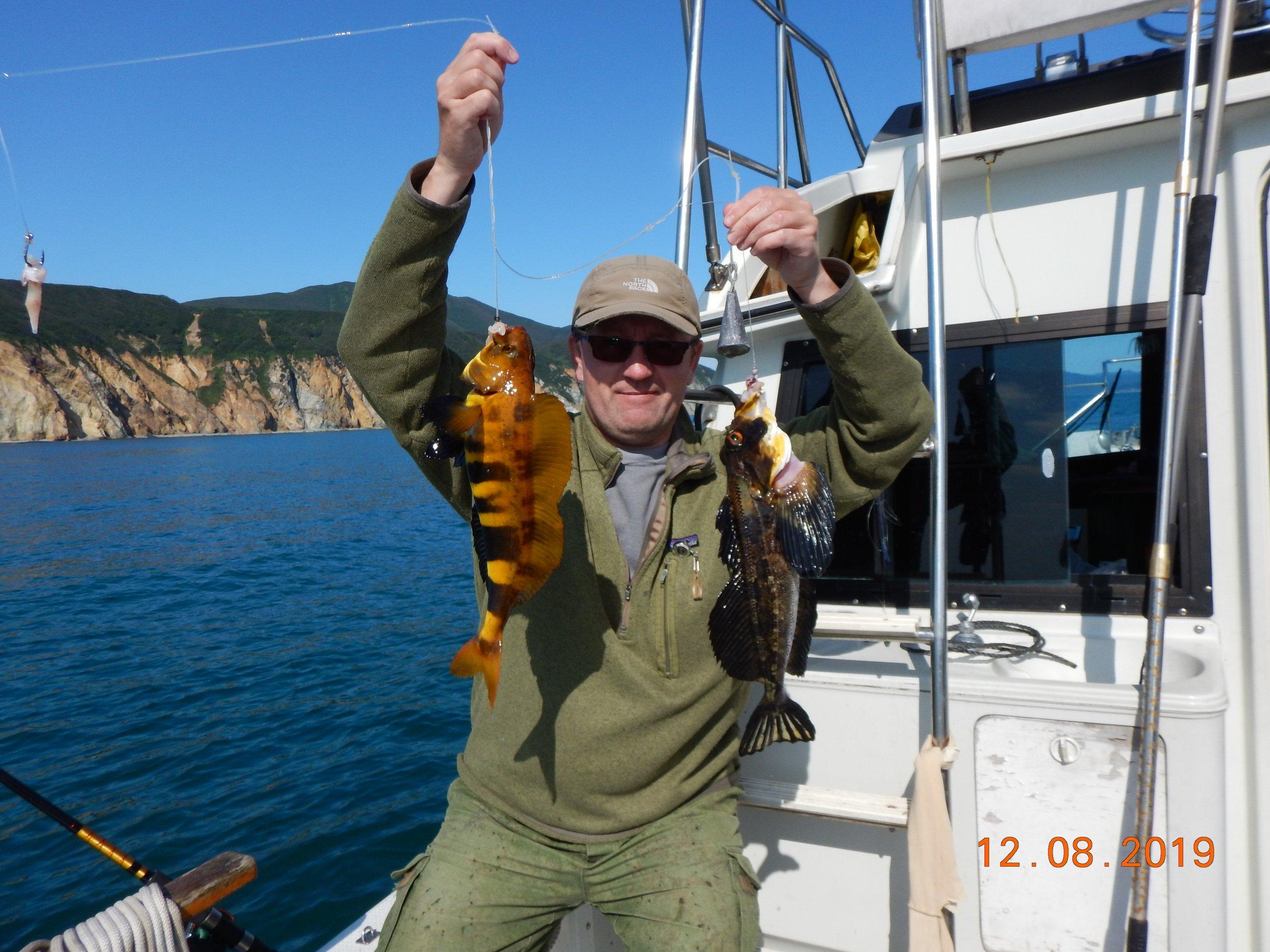 Дуплет из пёстрых рыб