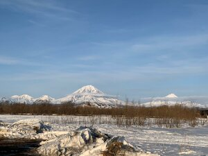 Вид на домашние вулканы