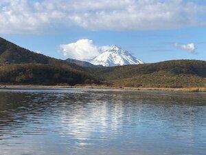 Вид на вулкан Вилючинская сопка