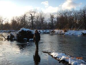 Короток ноябрьский день на реке